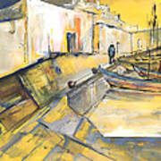 Spanish Harbour 05 Art Print