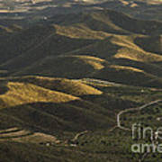 Spanish Landscape In Andalusia Art Print