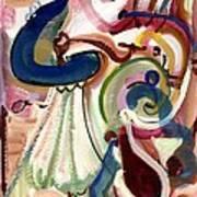 Spanish Rose Art Print