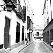 Spanish Street 2 Art Print