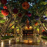 Sparkling Merry Exuberant Decorations Art Print