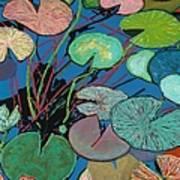Sparkling Pond Art Print
