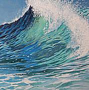 Sparkling Turquoise Art Print