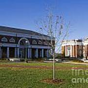 Special Collections Library And Alderman Library University Of Virginia Art Print