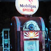 Special Mobilgas Art Print
