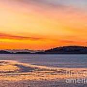 Spectacle Island Sunrise Art Print