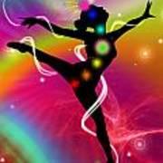 Spectrumdancer Art Print