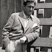 Spencer Tracy Wearing A Tweed Sports Jacket Art Print