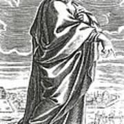 Speusippus, Ancient Greek Philosopher Art Print