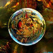 Sphere Of Refractions Art Print
