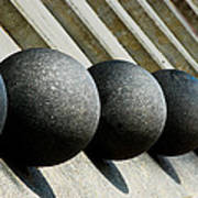 Spheres And Steps Print by Christi Kraft