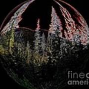 Spherescape 2  Art Print