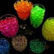 Spherical Polymer Gel 2 Art Print