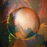 Sphering Lunar Vibrations Art Print