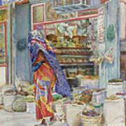 Spice Shop Art Print