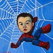 Spider-man Alan Art Print