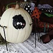 Spider Pumpkin Art Print