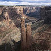 Spider Rock, Canyon De Chelly Art Print