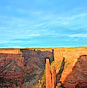 Spider Rock In Canyon De Chelly Art Print