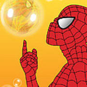 Spiderman 3 Art Print