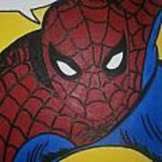 Spiderman Art Print