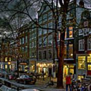 Spiegelgracht 8. Amsterdam Art Print