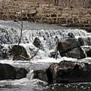 Spillway Waterfall Art Print