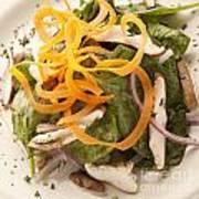 Spinach Salad Art Print