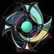 Spinners 5 Art Print