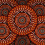 Spinning Guitars 2 Art Print