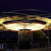 Spinning Orbiter Fair Ride Art Print