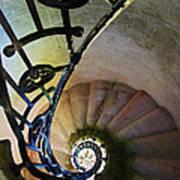 Spinning Stairway Art Print