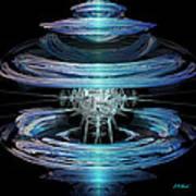 Spiral Movement Art Print by Michael Durst