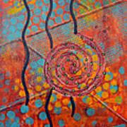 Spiral Series - Timber Art Print