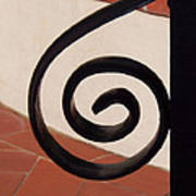 Spiral Stair Railing Art Print