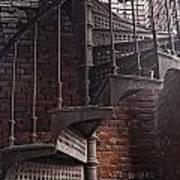 Spiral Staircase Depot Art Print