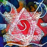 Spiral Star Art Print