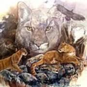 Spirit Cat Art Print