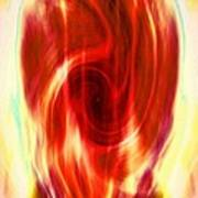 Spirit Fire Of Kundalini Art Print