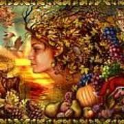 Spirit Of Autumn Art Print