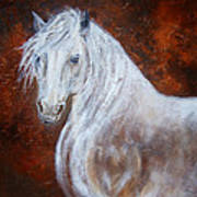 Spirit Of The Heart Art Print by The Art With A Heart By Charlotte Phillips