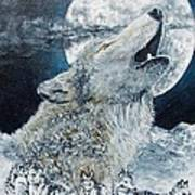 Spirit Of The Wolf Art Print