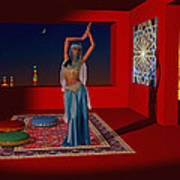 Spirits Of Arabia Art Print