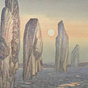 Spirits Of Callanish Isle Of Lewis Art Print