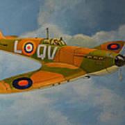 Spitfire Mk1a Art Print by Murray McLeod