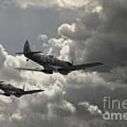 Spitfire Wingman Art Print