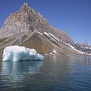 Spitsbergen Islandn Svalbard Norwegian Art Print
