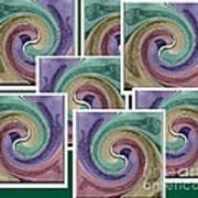 Splash Of Colors Art Print