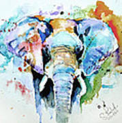 Splash Of Colour Art Print by Steven Ponsford