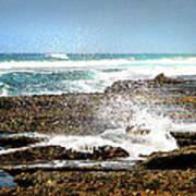 Splashes At Sea Art Print